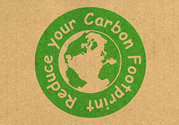 Reduce your carbon footprint logo